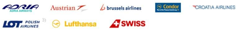 miles and more airlines mit online buchung