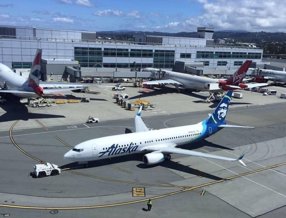 Alaska Airlines gehört zu den KrisFlyer Partnerairlines