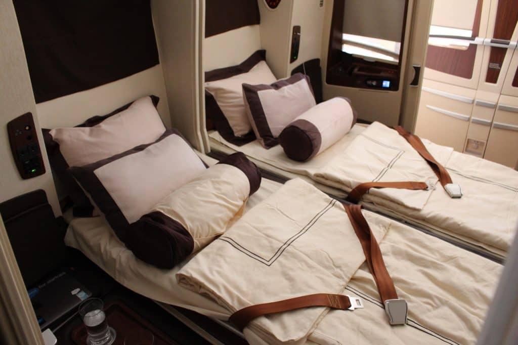Singapore Airlines Suite Doppelbett