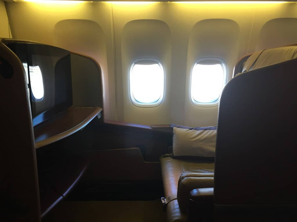 singapore airlines first class boeing 777