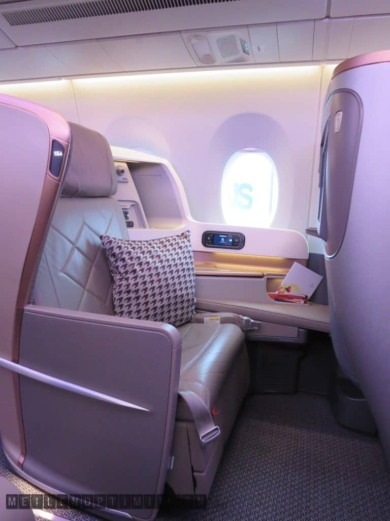 singapore airlines business class airbus a350 900 seat 1