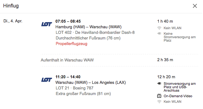 google flights hinflug alternative