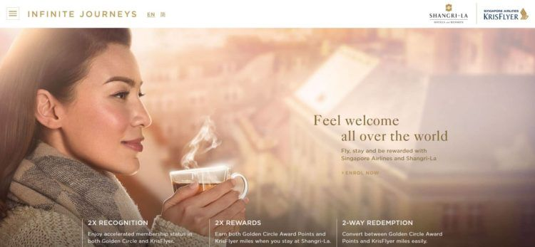 infinitejourneys shangri la singapore airlines