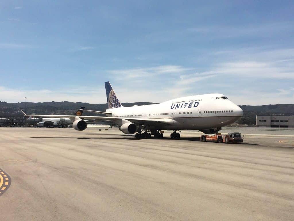United gehört wie alle Star Alliance Airlines zu den KrisFlyer Partnerairlines