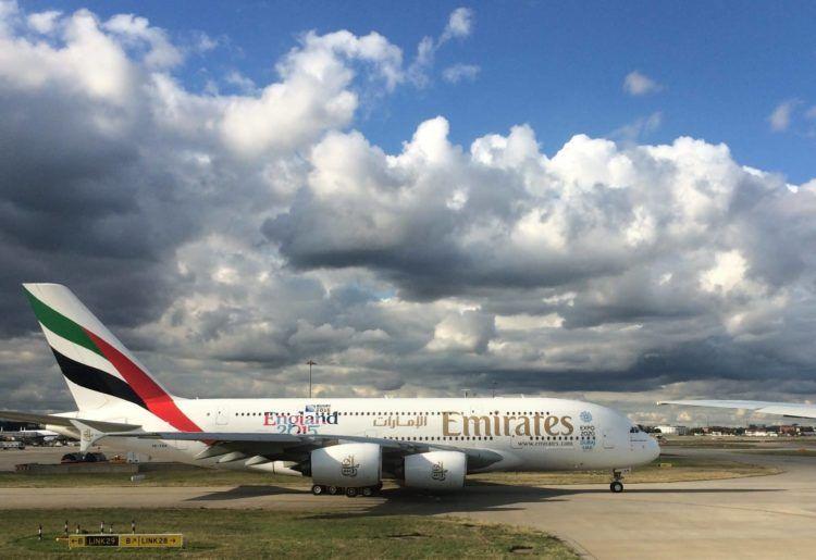 emirates a380 b