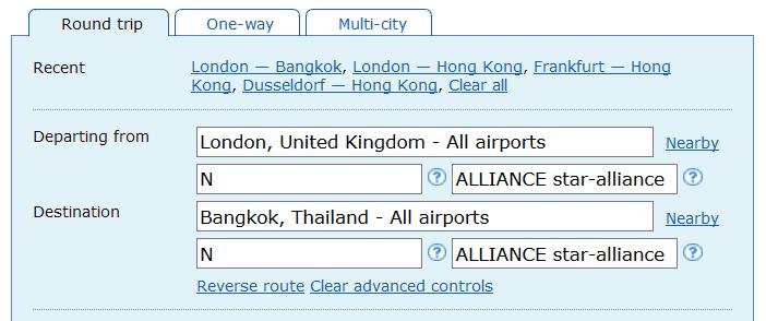 ita matrix advanced routing codes 12