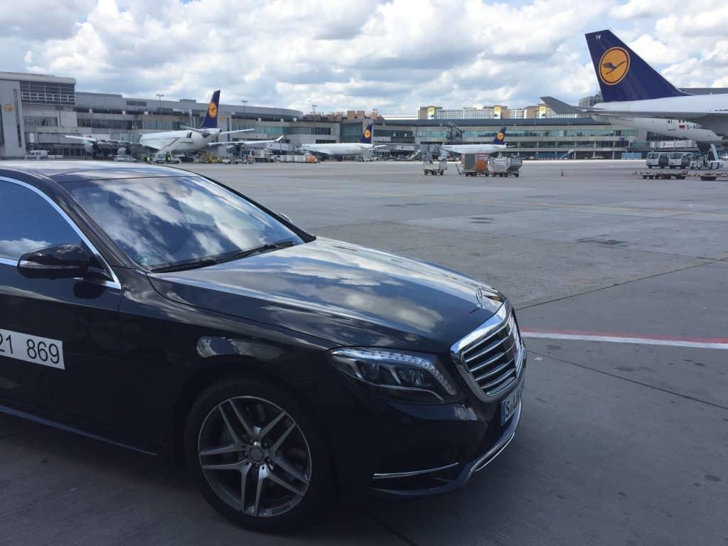 lufthansa first class chauffeur