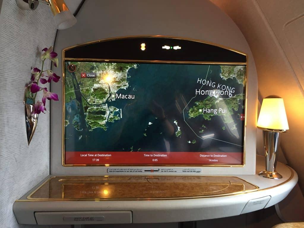 emirates first class a380 flighshow 2