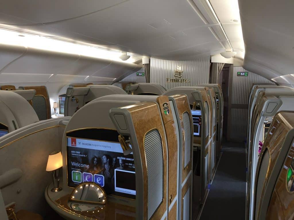 emirates first class a380 kabine 2