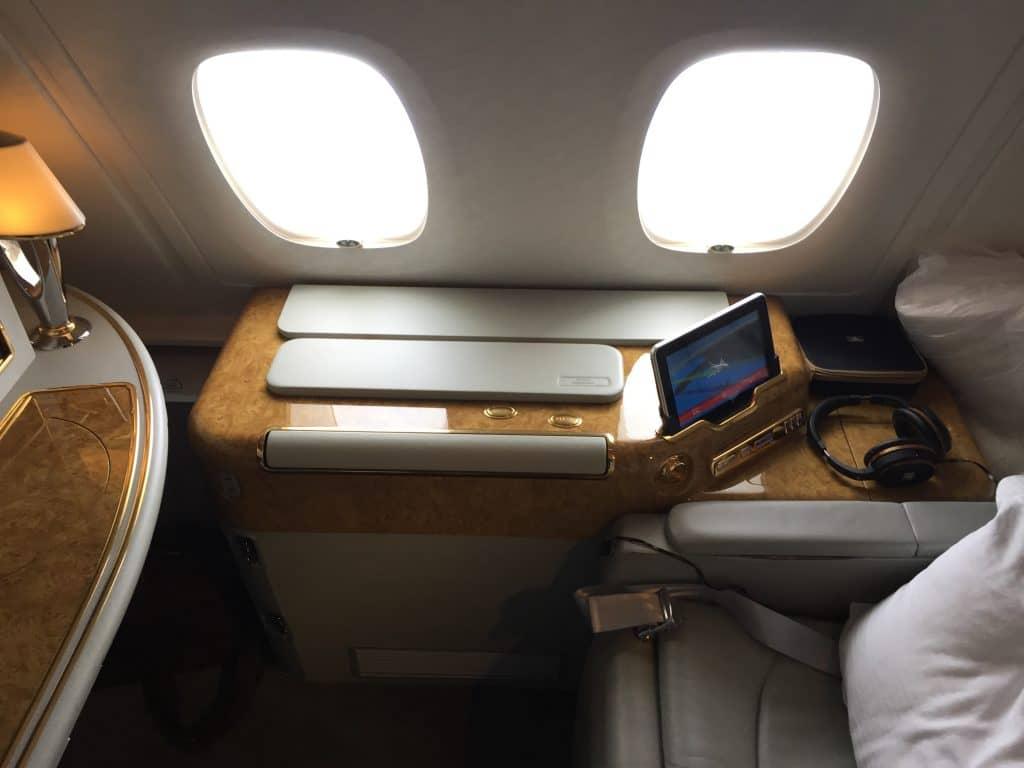 emirates first class a380 sitz 2