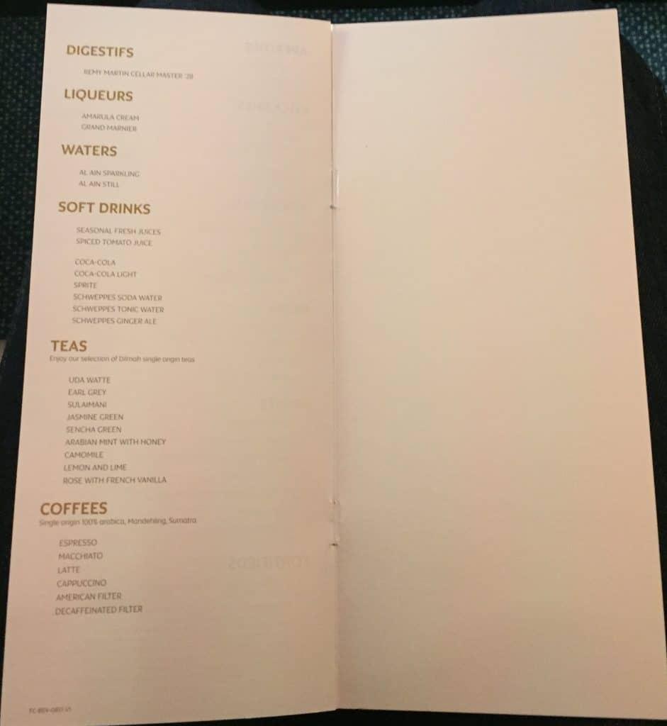etihad first class apartment essen menu 5