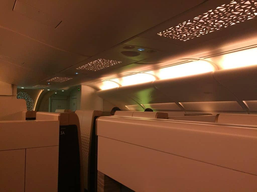 etihad first class apartment kabine 2 decke