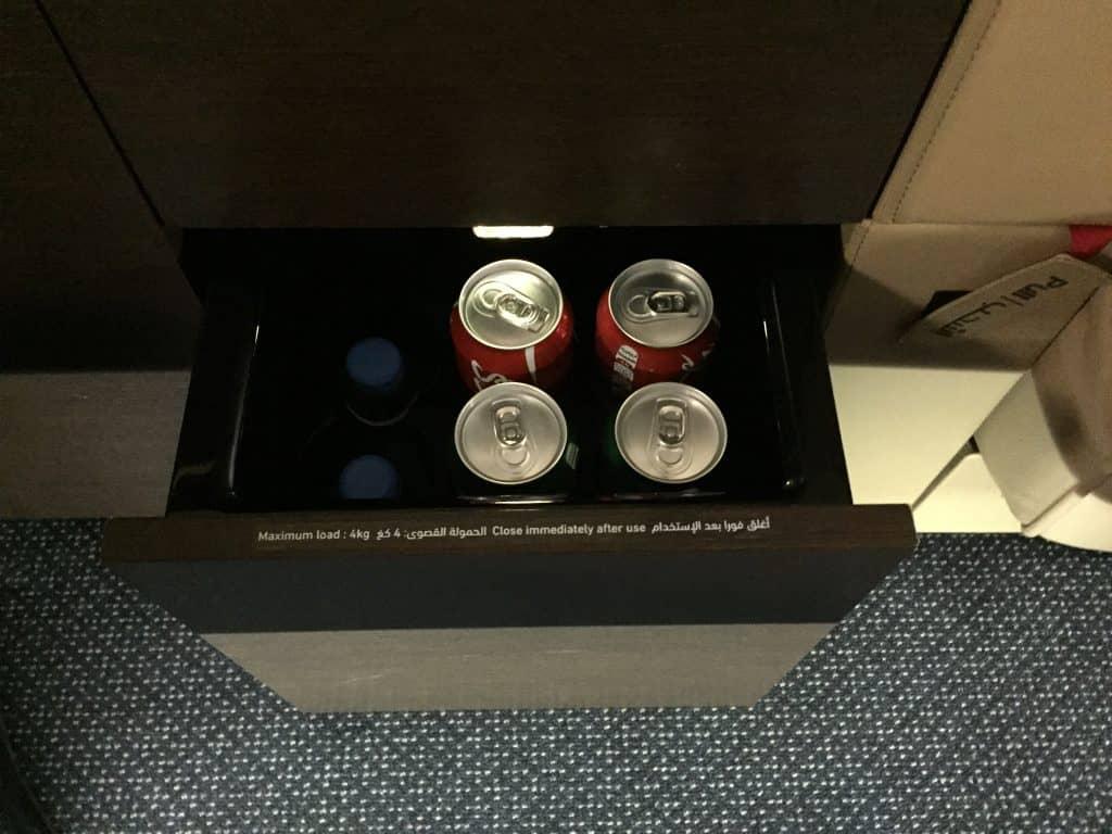 etihad first class apartment minibar z