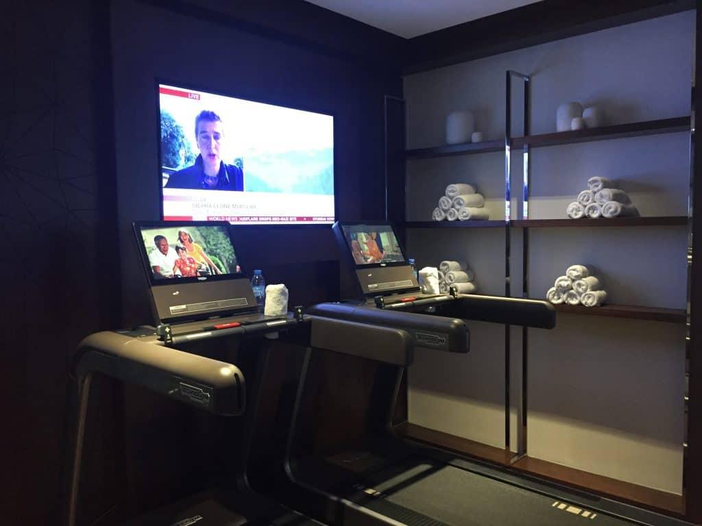 etihad first class lounge abu dhabi fitnessstudio 2