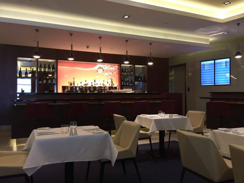 etihad first class lounge abu dhabi restaurant 1