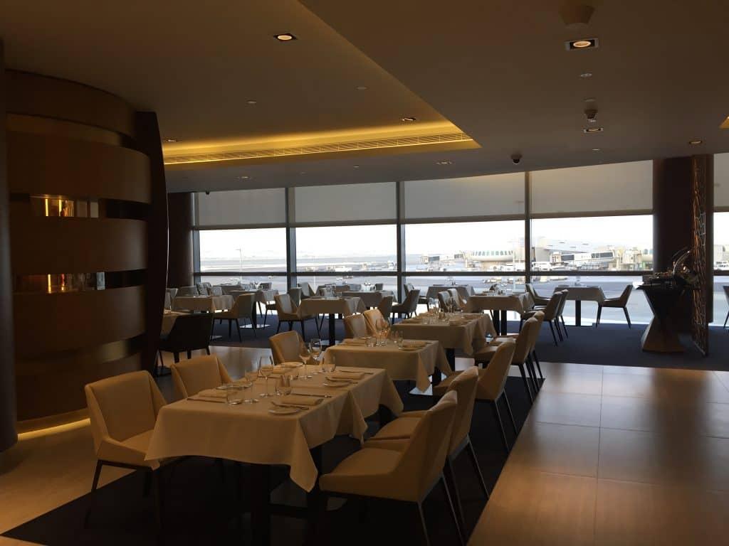 etihad first class lounge abu dhabi restaurant 5