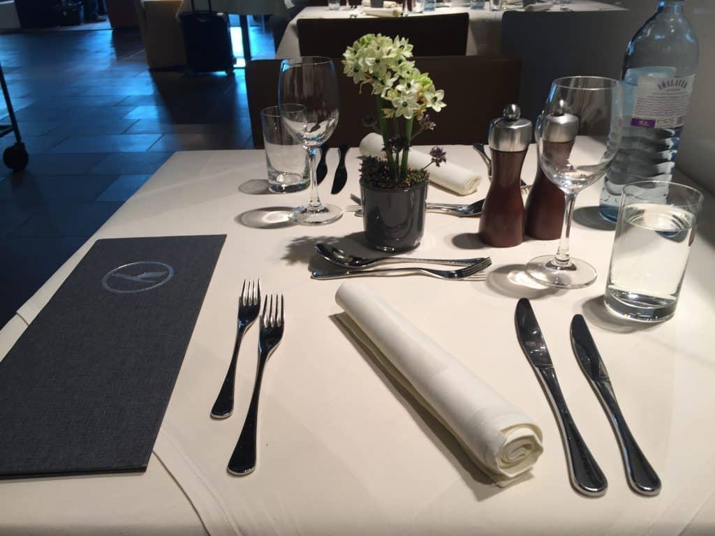 lufthansa first class terminal restaurant 2