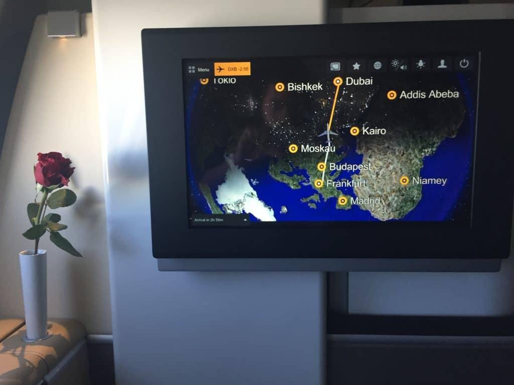 lufthansa first class a330 flightshow