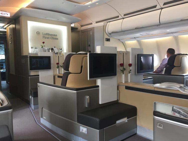 lufthansa first class a330 kabine 1