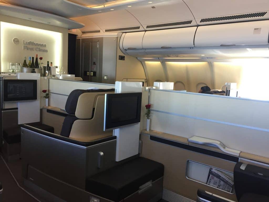 lufthansa first class a330 kabine 2