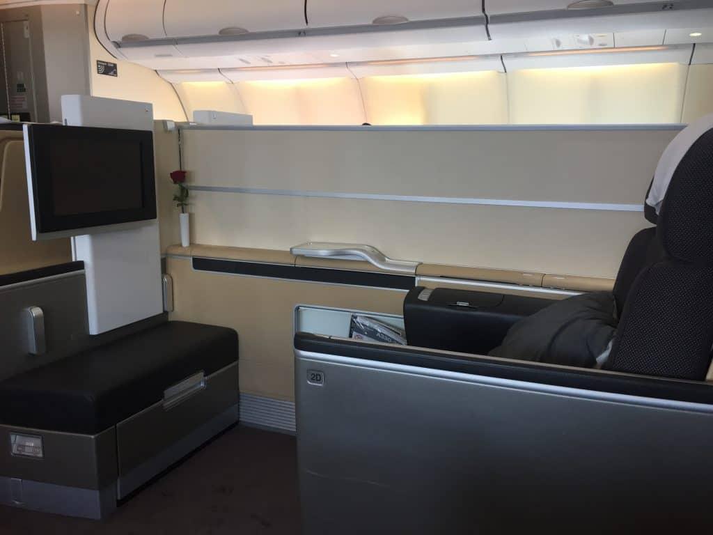 lufthansa first class a330 sitz 3