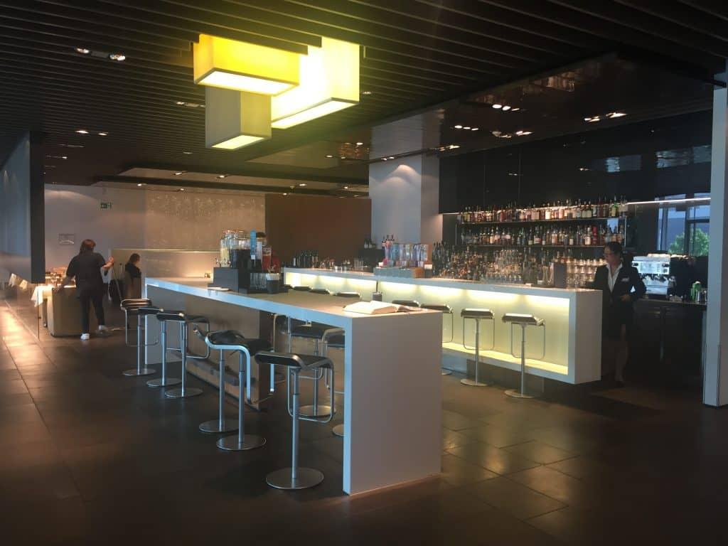 lufthansa first class terminal bar