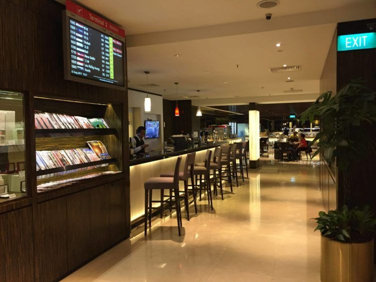 singapore airlines silverkris first class lounge singapur t2 2