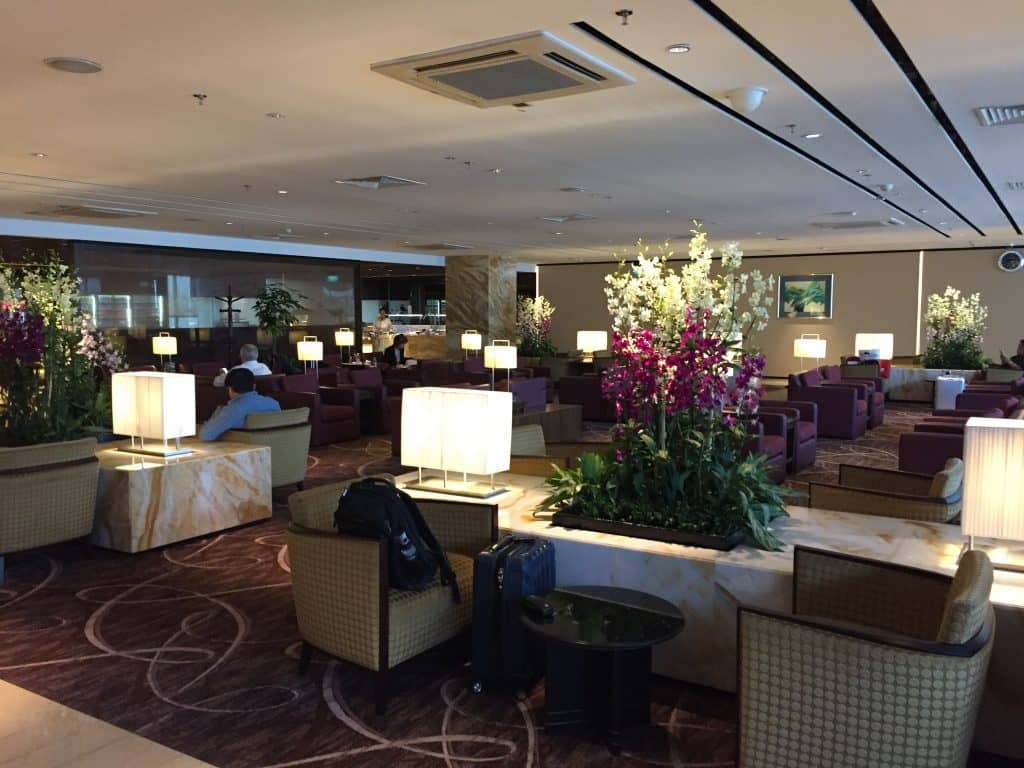 singapore airlines silverkris first class lounge singapur t2 3