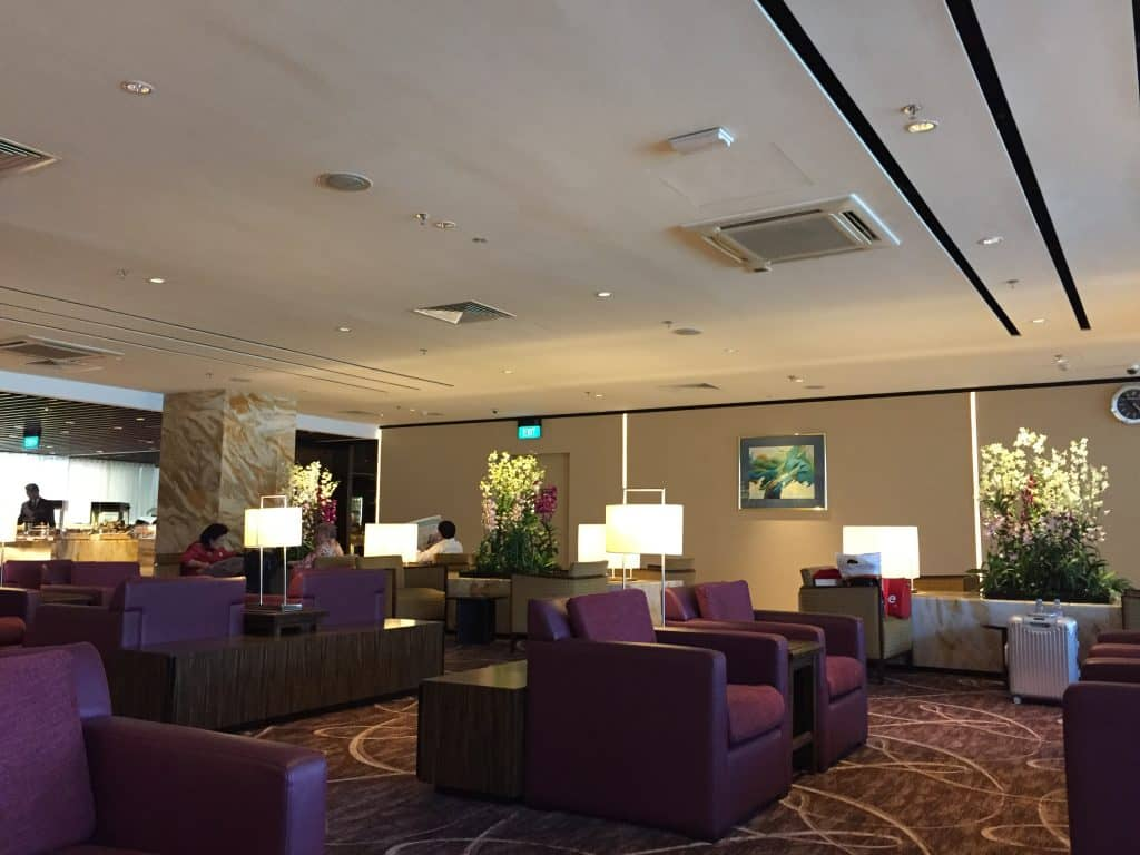 singapore airlines silverkris first class lounge singapur t2 5