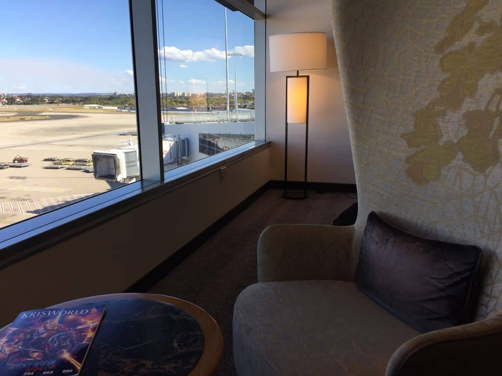 singapore airlines silverkris first class lounge sydney 5