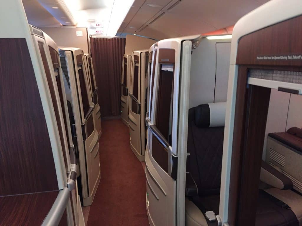 singapore airlines suites kabine 1