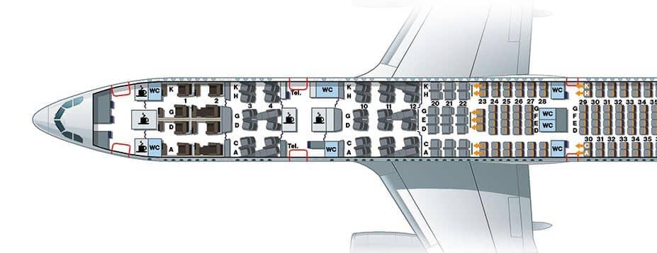 sitzplan lufthansa a330 first class