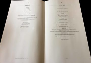 cathay pacific first class boeing 777 330er essen menu 2