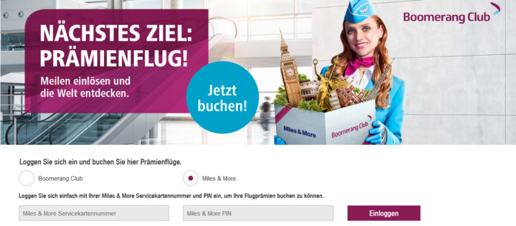 Eurowings Mit Miles And More Meilen Buchen