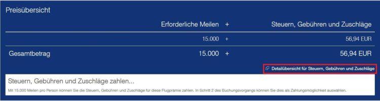 miles and more steuern und gebuhren frankfurt munchen economy preisubersicht