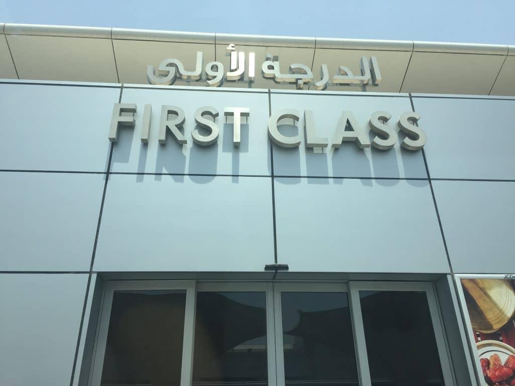 etihad first class eingang