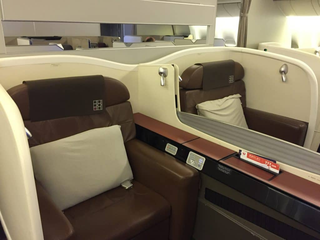 Japan Airlines First Class