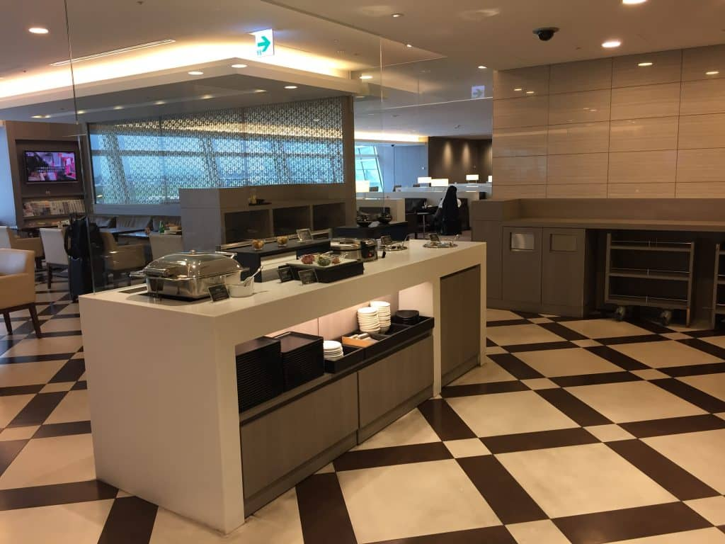 japan airlines first class lounge tokio haneda restaurant 3