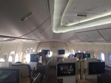 lufthansa first class boeing 747 8 kabine 1