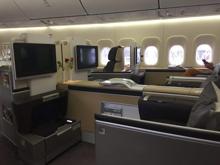 lufthansa first class boeing 747 8 kabine 2