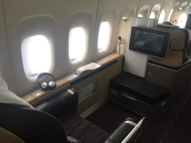 lufthansa first class boeing 747 8 sitz 1