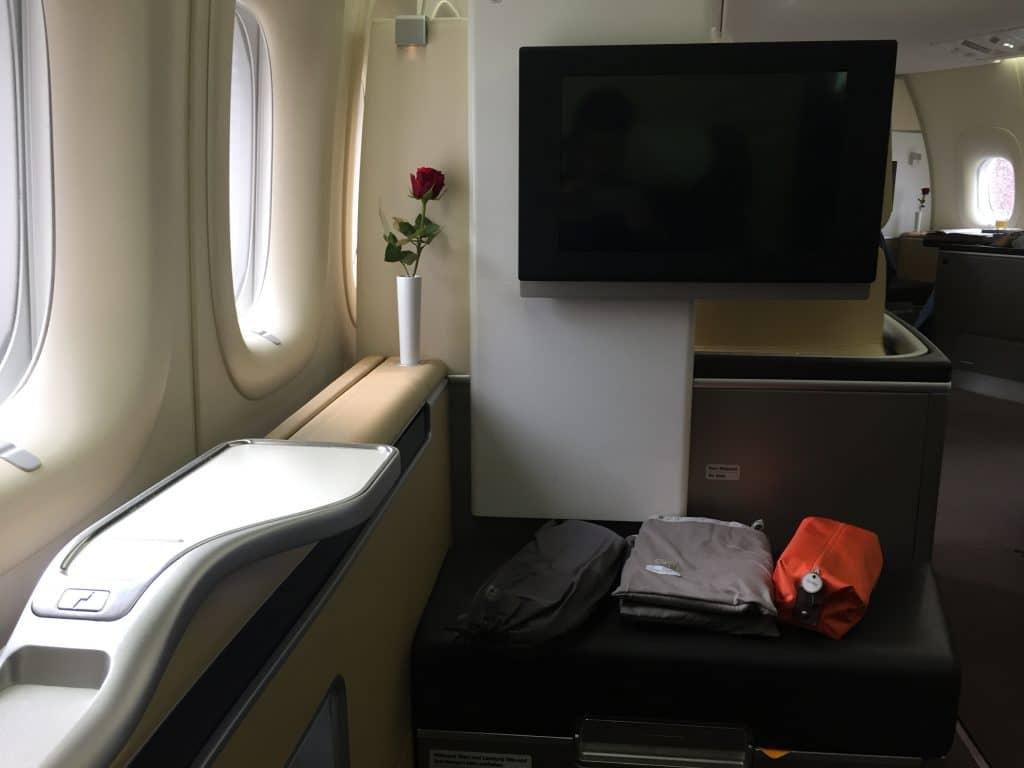 lufthansa first class boeing 747 8 sitz 3