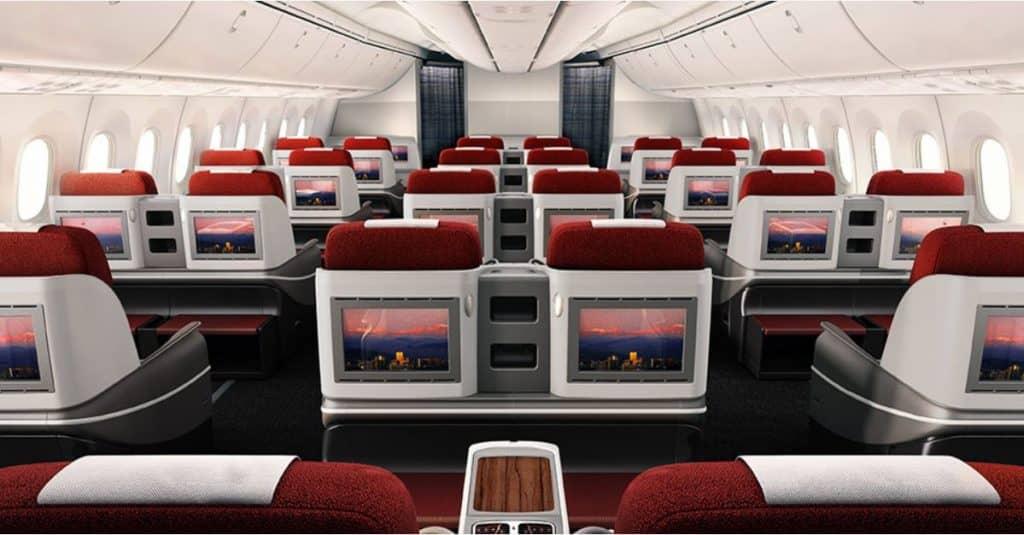 latam business class 787