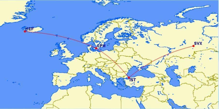 united mileage plus island russland