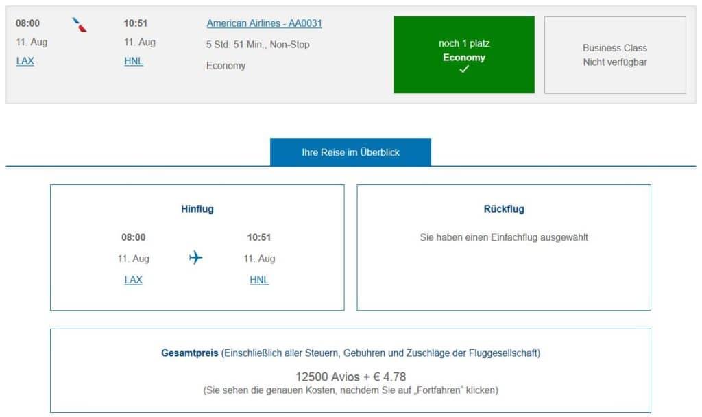 executive club pramienflug american airlines los angeles honolulu