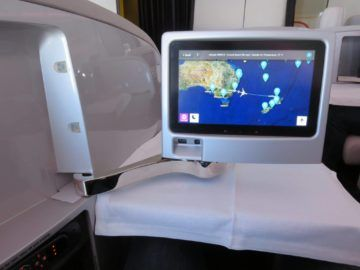 air new zealand business class boeing 777 200 entertainment monitor 3