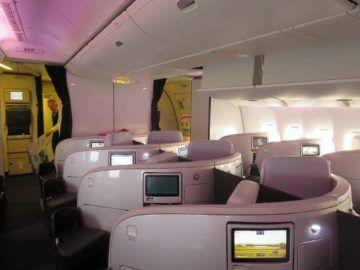 air new zealand business class boeing 777 200 kabine 3