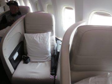 air new zealand business class boeing 777 200 sitz 1b