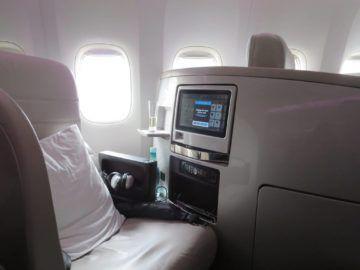 air new zealand business class boeing 777 200 sitz 2