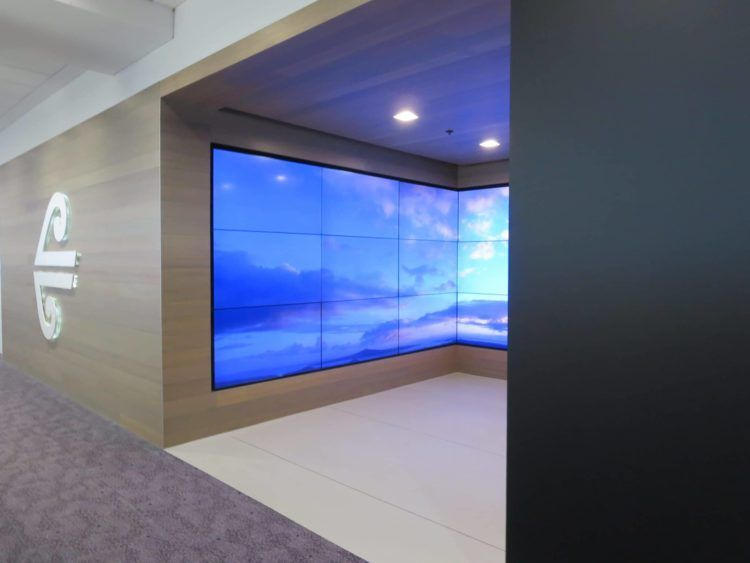 air new zealand sydney international lounge eingang 2